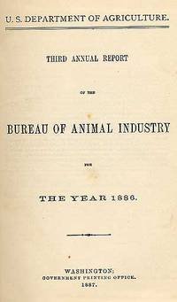 Washington: Government Printing Office, 1887. Hardcover. Very Good. 1886 edition. Boards soiled and ...