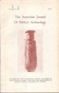 The Journal of Biblical Archaeology: Vol. 2 No. 2