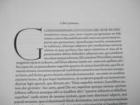 De Civitate Dei Contra Paganos, Libri XXII  [The City of God, or The City of God Against the Pagans]