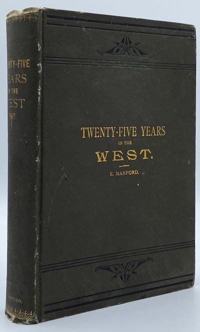 Chicago: Mrs. H.B. Manford, Publisher, 1885. Revised Edition. 413pp. Octavo Gray cloth with the titl...