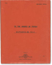 image of To the Shores of Tripoli (Original screenplay for the 1942 film, copy belonging to director H. Bruce Humberstone)