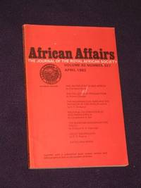 African Affairs: Journal of the Royal African Society. Volume 82, No. 327. April, 1983