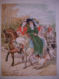 "ORIGINAL ANTIQUE COLOUR PLATE FROM ""THE MAY BLOSSOM; THE PRINCESS AND HER PEOPLE""."