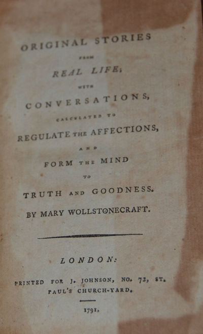London: Johnson, 1791. Second edn. Revised text, the first edition with the author's name on the tit...