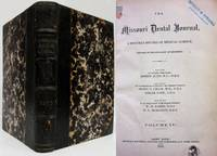 THE MISSOURI DENTAL JOURNAL (VOL. 2, 1870)  Monthly Record of Medical  Science