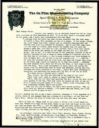 SIGNED LETTER TO JOHN R. NEILL