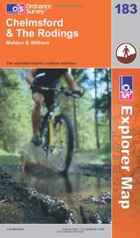 image of Chelmsford and the Rodings (Explorer Maps) (OS Explorer Map Active)