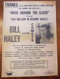 Decca Records Promotional Poster circa 1955