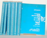 APPENDICES; COMMISSION ON THE ORGANIZATION OF THE GOVERNMENT FOR THE  CONDUCT OF FORIEGN POLICY - JUNE, 1975 Seven Volumes