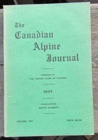 The Canadian Alpine Journal 1937 volume XXV twenty-five