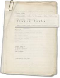 image of Siesta Samba (Original screenplay for an unproduced film)