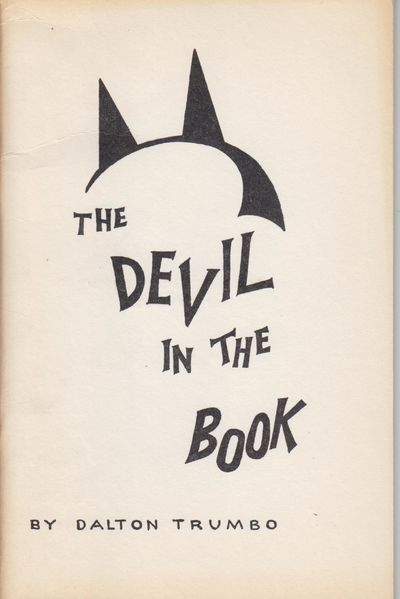 Los Angeles: California Emergency Defense Committee. 1956. First Edition; First Printing. Softcover....