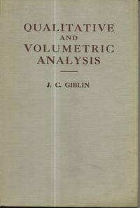 image of Qualitative and volumetric analysis