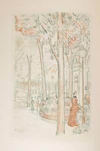 A l'ombre des jeunes filles en fleurs. Tome premier illustré de vingt-cinq gravures par J. E. Laboureur. Tome second illustré de vingt-cinq gravures par Jacques Boullaire.