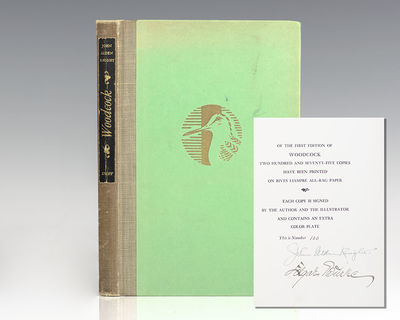 New York: Alfred A. Knopf, 1944. First edition of Alden's comprehensive work on the American woodcoc...