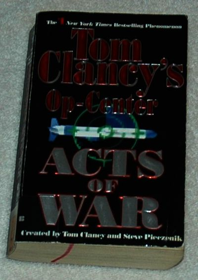 tom clancys op center Book review of tom clancy's op-center: out of the ashes.