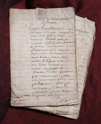 [Mayor for Life - the sale of Municipal Offices in France]. SAMMELBAND of 3 MSS and 2 printed...