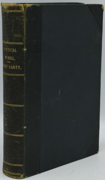 London: George Routledge and Sons, 1872. Half Leather. Very Good binding. The Poetical Works of Bret...
