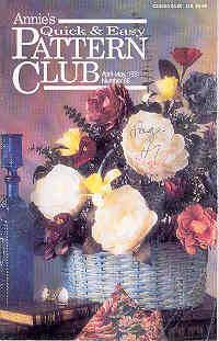 Annie's Quick & Easy Pattern Club April May 1991, Number 68