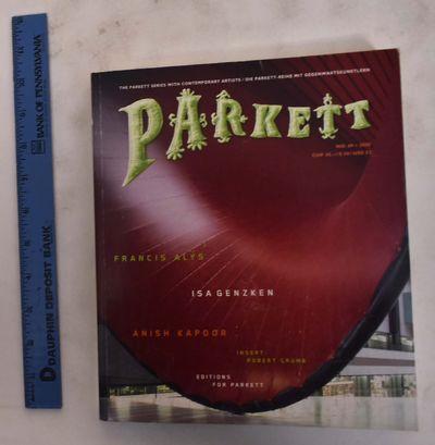 Zurich, Switzerland: Parkett Verlag AG, 2003. Softcover. VG. edge-wear & scratches to cover. black r...