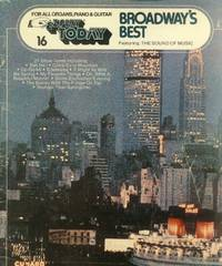 image of E-ZPlay Today #16: Broadway's Best (For All Organs, Piano & Guitar)
