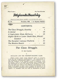 Wayland's Monthly. No. 67 - November, 1905
