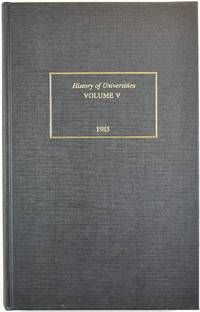 image of History of Universities, Vol. 5