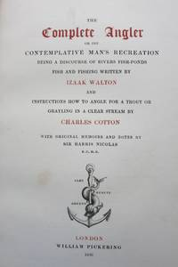 image of THE COMPLETE ANGLER OR THE CONTEMPLATIVE MAN'S RECREATION