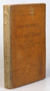 """James Lillywhite's Cricketers' Annual for 1885. With which is incorporated """"James..."""