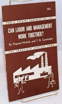 Can Labor and Management Work Together