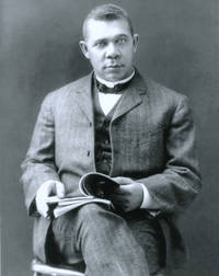 image of Autograph of Booker T. Washington, with photo