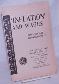 image of 'Inflation' and Wages: Do increased wages mean increased prices