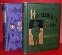 """ADVENTURES OF HUCKLEBERRY FINN (TOM SAWYER'S COMRADE). By """"Mark Twain"""" [pseud]"""