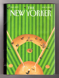 "image of The New Yorker - April 15, 2019. Mark Ulriksen Cover, ""Double Play"". Bill Barr's Secrecy; Chris Carton; Church Penance; What Cancer Takes Away; Robot Farming; Gig Economy in Fiction; T.C. Cannon; King Lear; Noh Drama"