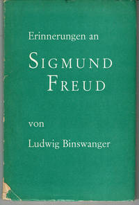 image of ERINNERUNGEN AN SIGMUND FREUD. [Memories of Sigmund Freud].