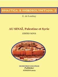 image of  AU SINAΪ, Palestine et Syrie