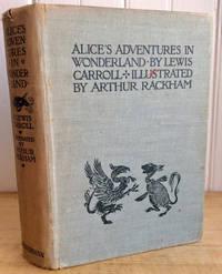alice's adventures in wonderland, 1933, Lewis Carroll, Arthur Rackham illustrated