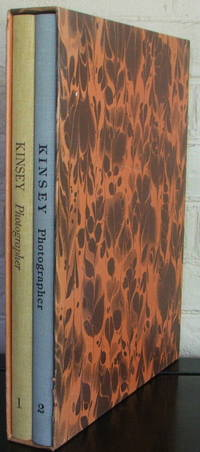 Kinsey Photographer - A Half Century Of Negatives By Darious & Tabitha May Kinsey. 2 Volumes in slipcase: Vol. I - Family Album & Other Early Work, Vol. 2 - The Magnificent Years by  Darius and Tabitha (photos) / Darius Jr. & Dorothea (contrib) / Dave Bohn & Rodolfo Petschek Kinsey - 1st - 1975 - from The Wild Muse and Biblio.com