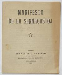 image of Manifesto de la sennaciistoj