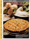 image of McCall's Cooking School Recipe Card: Pies, Pastry 36 - Apricot-Apple Tart  (Replacement McCall's Recipage or Recipe Card For 3-Ring Binders)