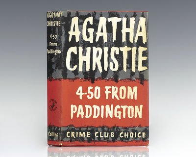 London: Collins Crime Club, 1957. First edition of Christie's classic murder mystery, adapted severa...