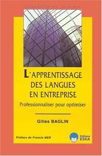L'apprentissage des langues en entreprise : professionnaliser pour optimiser