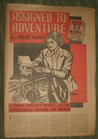 image of Assigned to Adventure    Philadelphia Record Supplement for January 1, 1939