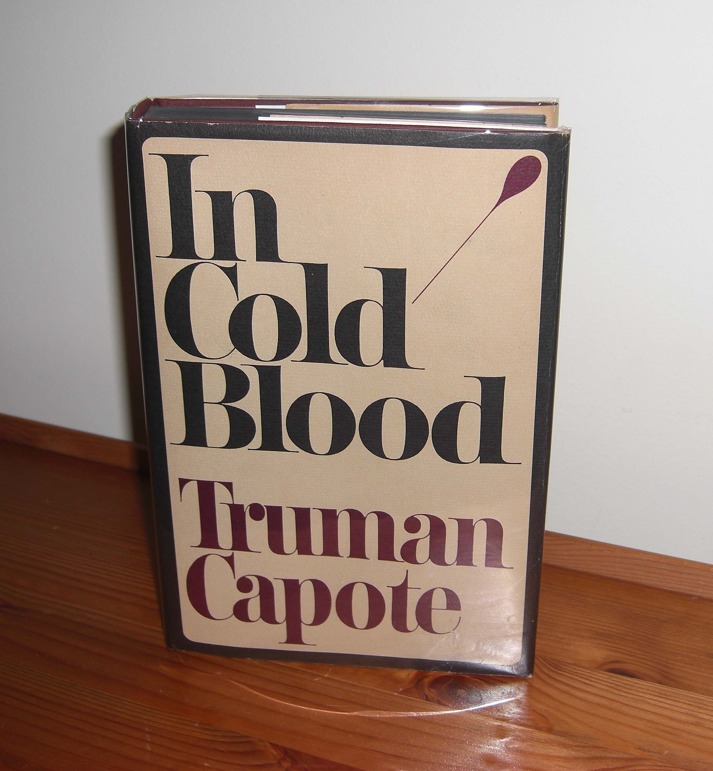an analysis of the book in cold blood by truman capote Rupert thomson: in cold blood, truman capote's forensic account of  that  murder was a theme not likely to darken and yellow with time.