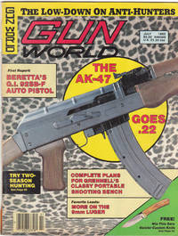 image of Vintage Issue of Gun World Magazine for July 1985
