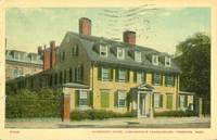 Wadsworth House, Washington's Headquarters, Cambridge, Mass 1919 used Postcard