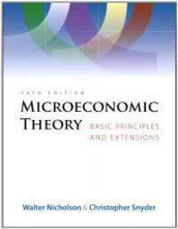 image of Microeconomic Theory (Book Only)
