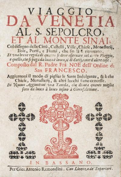 Viaggio da Venetia al S. Sepolcro, et...