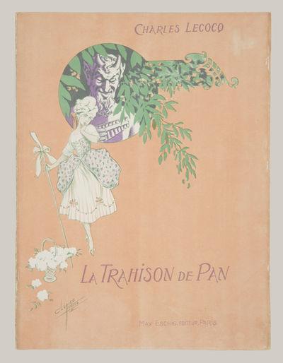 Paris: Max Eschig , 1912. Folio. Original publisher's peach wrappers illustrated by Clérice Frères...