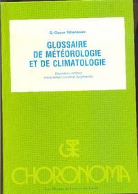 Glossaire de météorologie et de climatologie